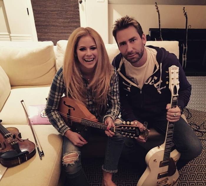 Avril Lavigne publica foto com Chad Kroeger e gera rumores ... Avril Lavigne Complicated