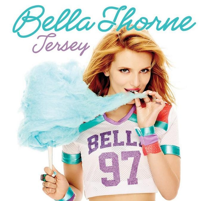 "Veja a capa de ""Jersey"", novo EP de Bella Thorne"