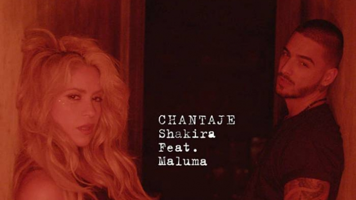 Shakira Anuncia Chantaje Parceria Com Maluma Vagalume