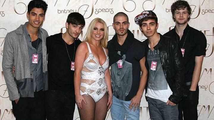 The Wanted alfineta Britney Spears - VAGALUME
