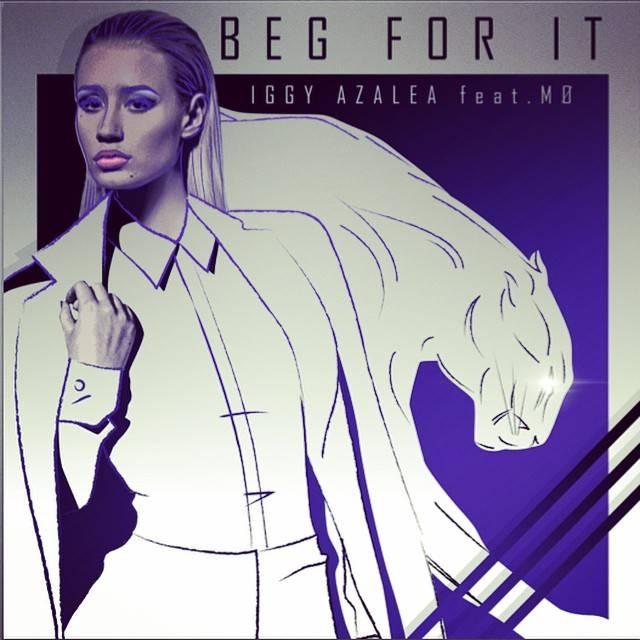 "Iggy Azalea revela tracklist do novo álbum e a capa do single ""Beg For It"""